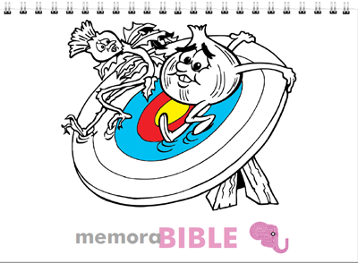 memoraBIBLE Colouring Book