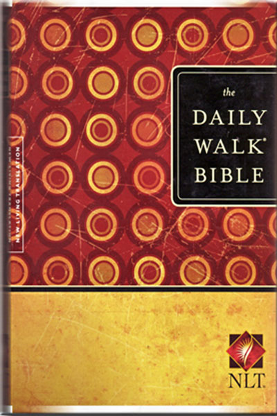 The New Living Translation of the Bible together with study notes arranged into 365 daily sections.