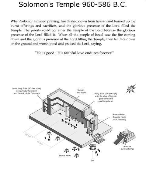 Detailed illustrations help you form a clear picture from descriptions in Gods Word.